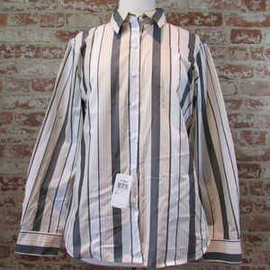 NWT FOXCROFT WRINKLE FREE SHIRT 16P SHAPED FIT